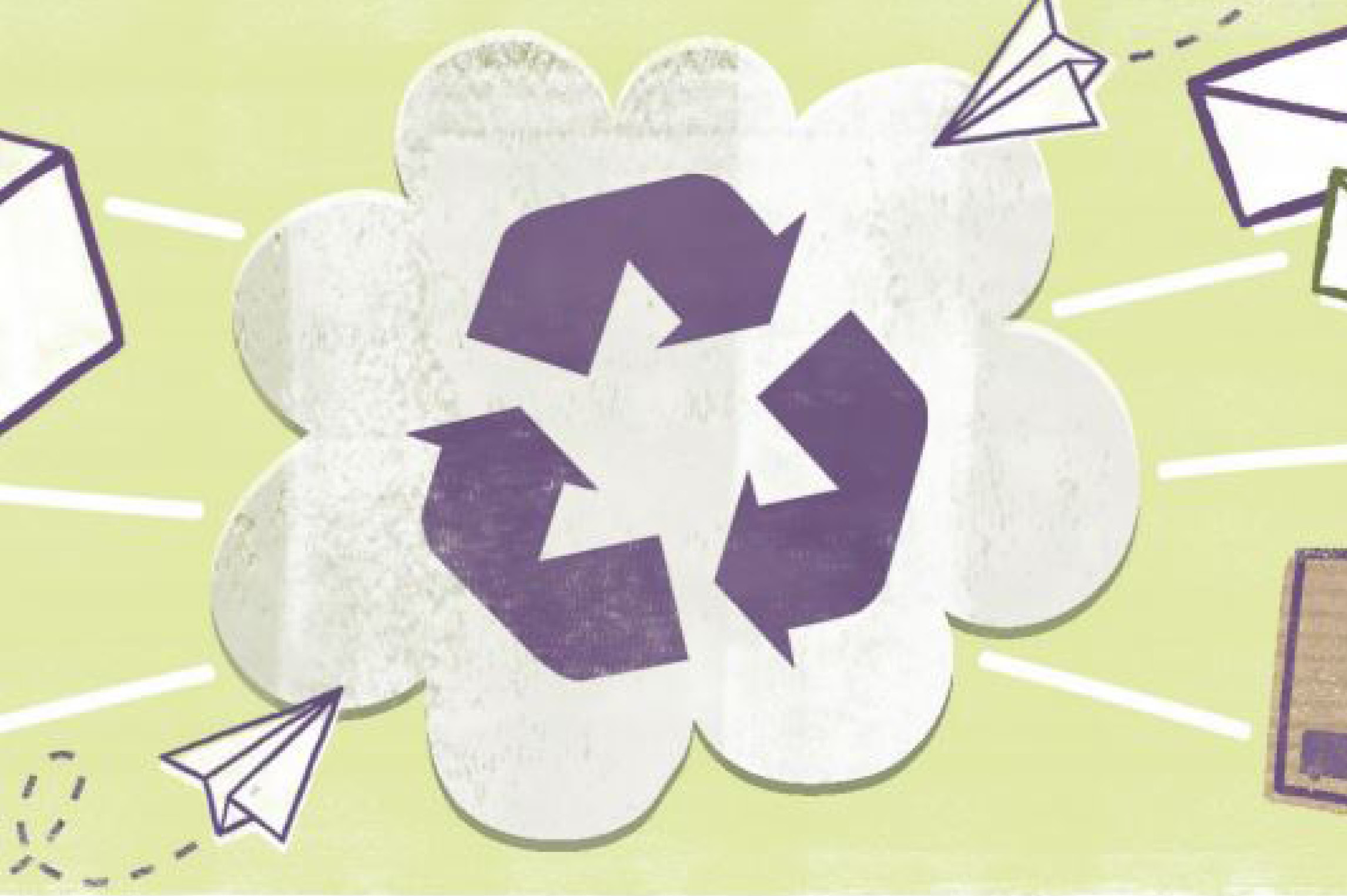 recycling of paper project