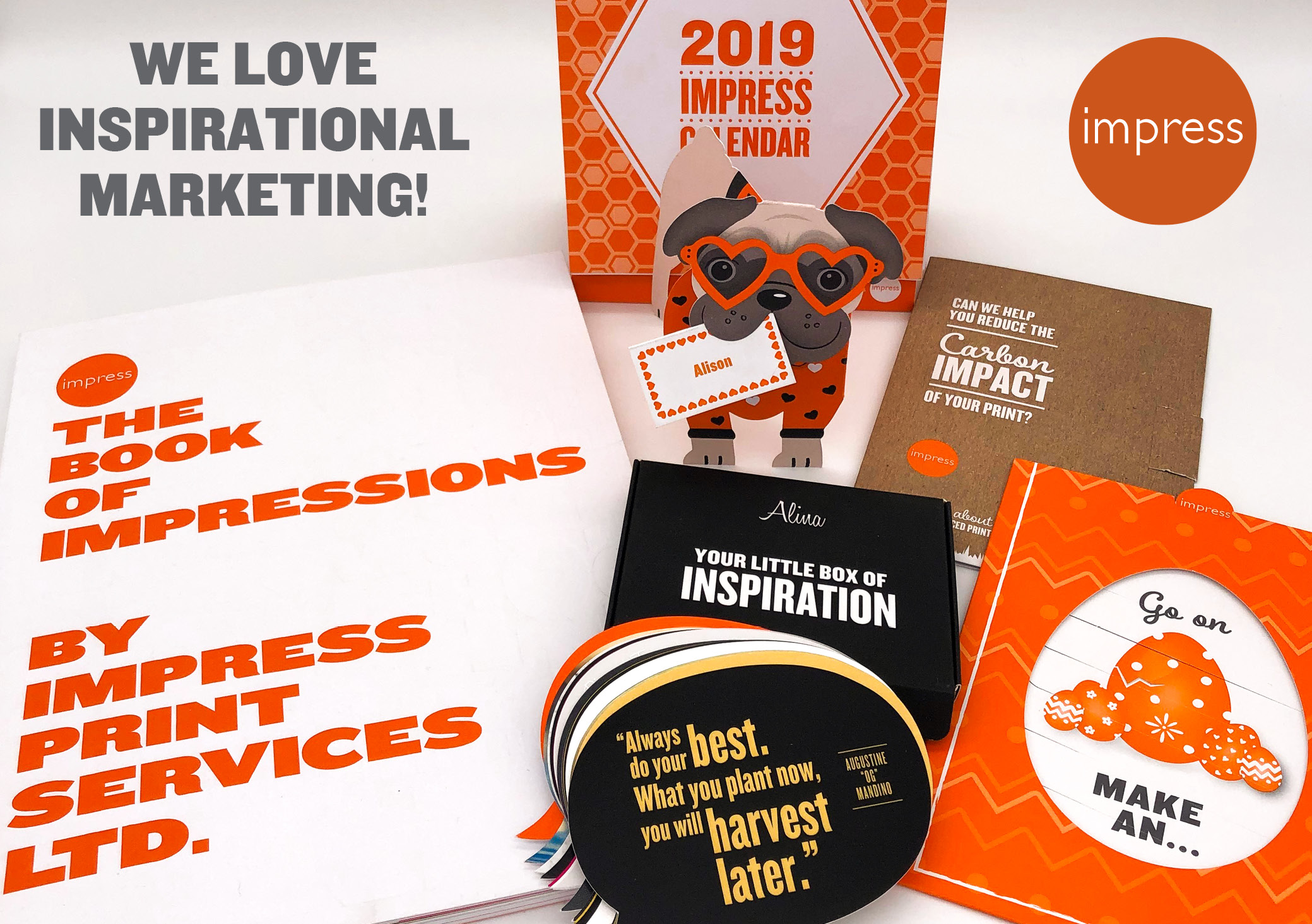 Impress Print Services Marketing Campaign 2019