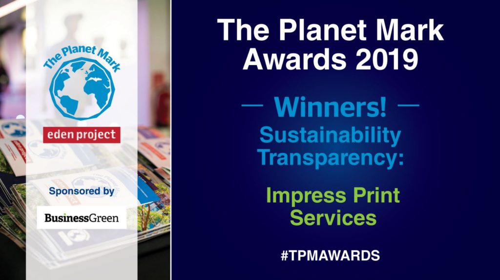 Planet Mark Awards 2019