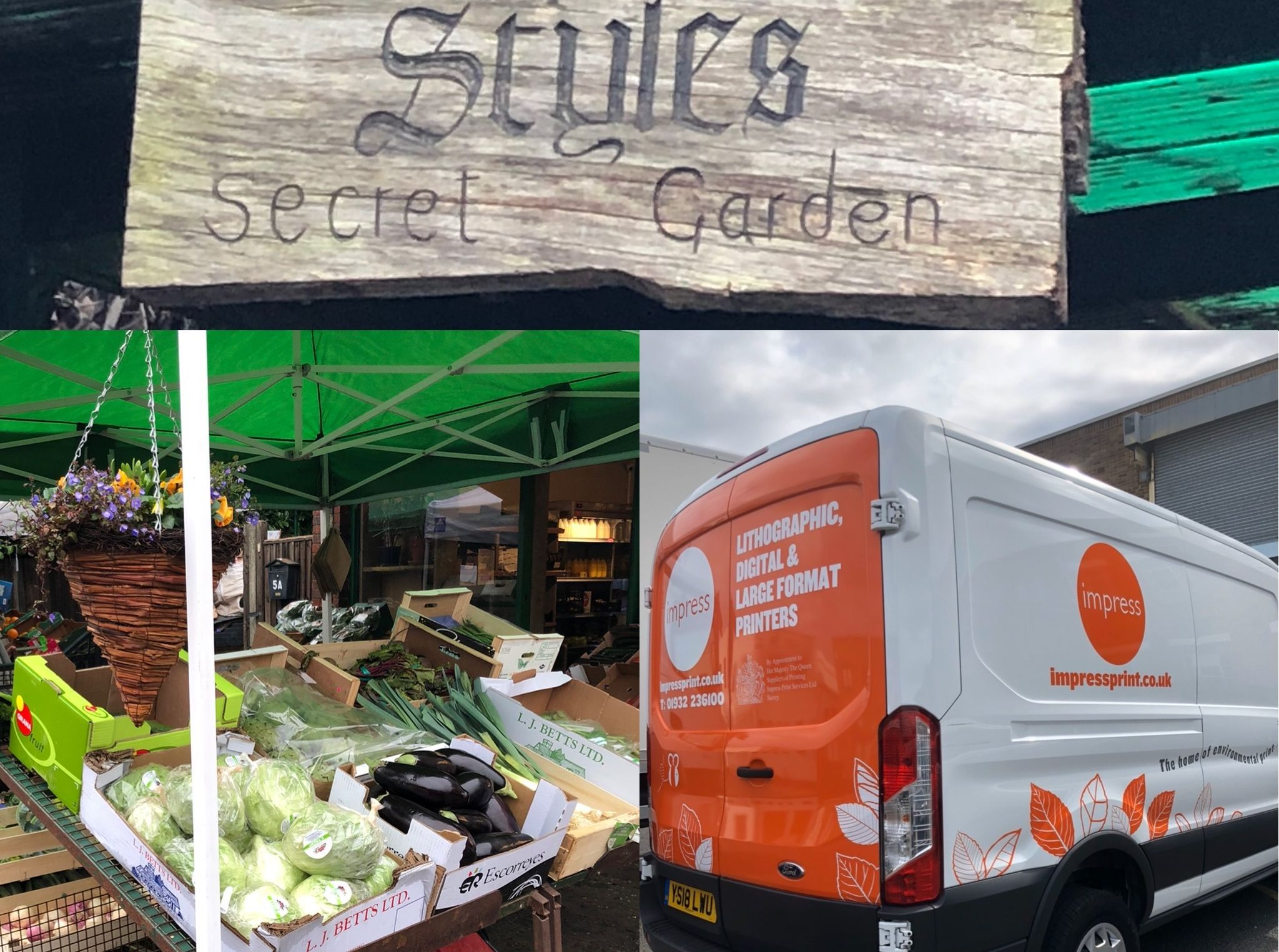 Helping greengrocer supporting communitiesames
